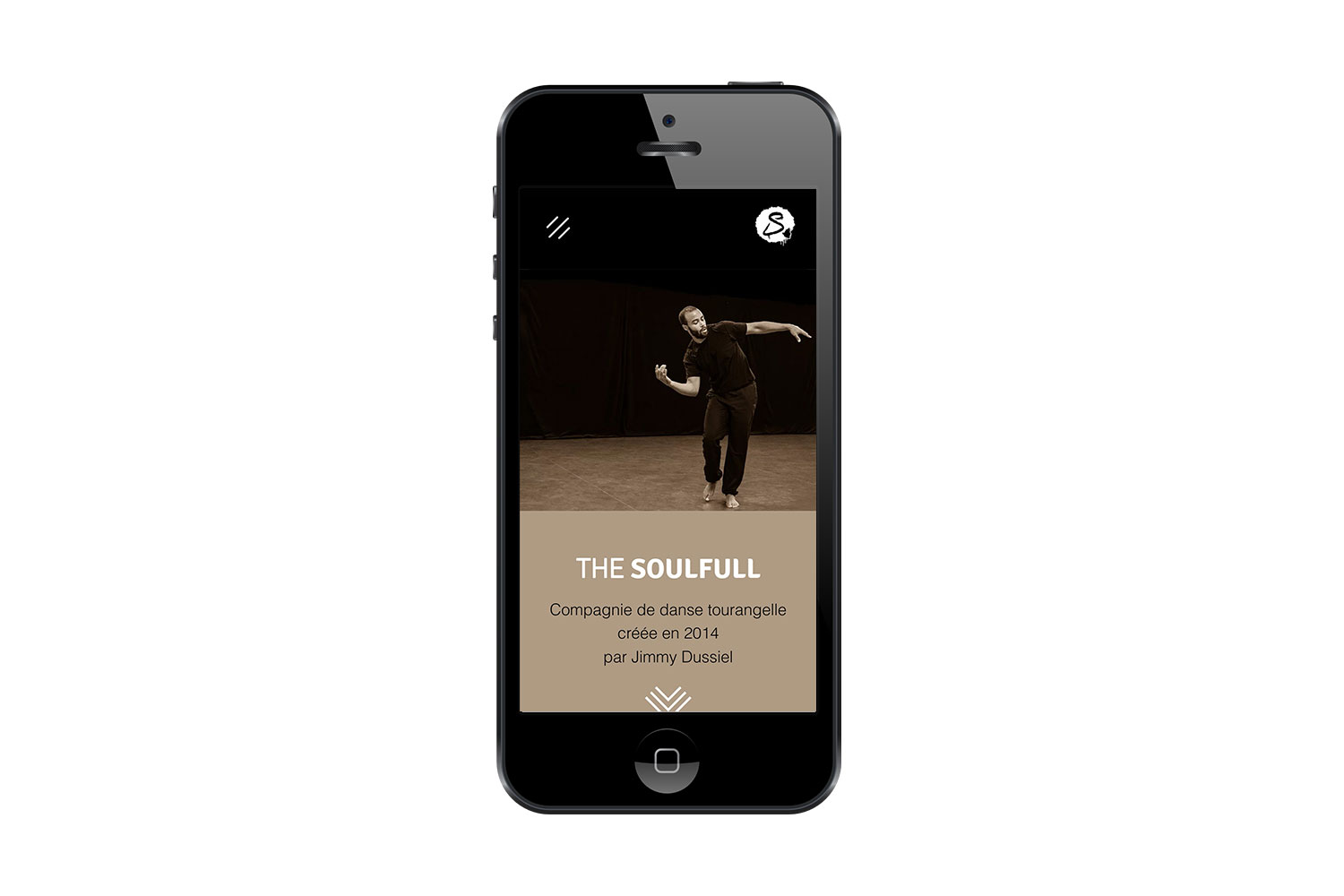 Version responsive site web Compagnie The Soulfull
